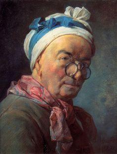 Chardin pastel selfportrait - Jean-Baptiste-Siméon Chardin