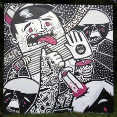 MK Paint Jam 2012 by Kristian Douglas, via Behance