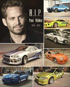 P Paul Walker. Let's remember Paul !Always in our hearts ♥♥♥ Paul Walker Car, Paul Walker Tribute, Gtr R34, Tuner Cars, Jdm Cars, Fast And Furious, Furious Movie, Street Racing Cars, Vin Diesel
