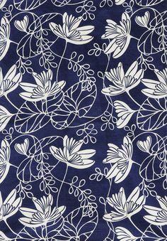 Waterlily ~ gorgeous pattern!