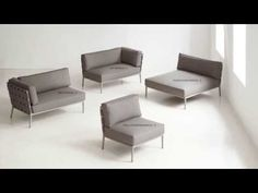 Ibiza Upholstered Outdoor Furniture Collection by Thos. Baker - YouTube
