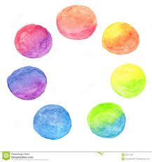 Image result for watercolour circles vector