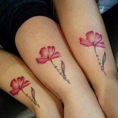 Flower/sister tattoo
