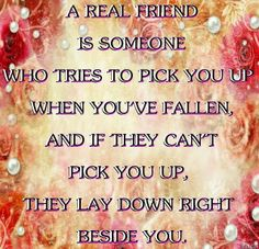 I'm lucky enough to have some of these people in my life!