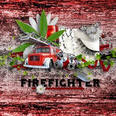 """""""Firefighters"""" by LouiseL, https://digital-crea.fr/shop/index.php?main_page=index&manufacturers_id=208, https://www.e-scapeandscrap.net/boutique/index.php?main_page=index&cPath=244, http://scrapfromfrance.fr/shop/index.php?main_page=index&manufacturers_id=113, http://thedigitalscrapbookshop.com/store/index.php?main_page=index&manufacturers_id=20, http://www.scrapandtubes.com/shop/index.php?main_page=index&manufacturers_id=82,  photo Pixabay"""