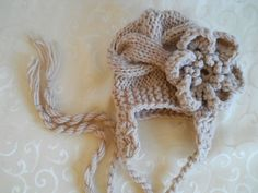 Hey, I found this really awesome Etsy listing at https://www.etsy.com/listing/81556817/baby-girl-hat-with-flower-baby-ear-flap