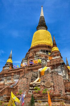 Wat Yai Chaimongkol in HDR | Flickr - Photo Sharing!
