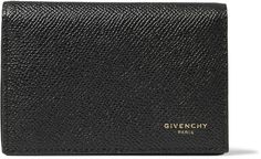 Shop men's wallets at MR PORTER, the men's style destination. Dark Fashion, Mens Fashion, Designer Wallets, Card Holder, Man Shop, Givenchy, Leather, Style, Moda Masculina