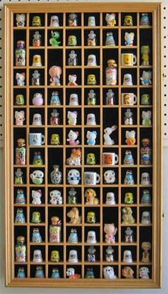 Thimbles. I have a thimble collection, not this big though.