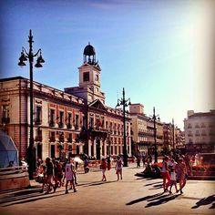 Esta es la Puerta de Sol en Madrid