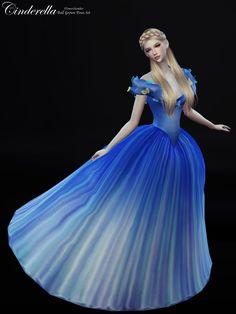 Flower Chamber: Cinderella Ball Grown Poses Set • Sims 4 Downloads
