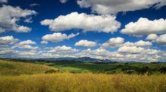 Monterotondo, Rome. Photo by Piero Persello #countryside #clouds #fields #sky #nature #sun