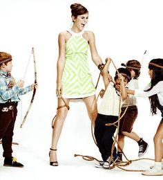 Originale des Kinder Shootings - Germany's next Topmodel 2014- Stefanie