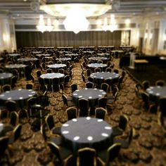 Corporate events, a must! Don't they look like casino chips..?