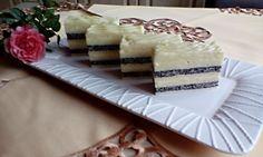 Krémové makové rezy (fotorecept) - obrázok 16 Czech Recipes, Ethnic Recipes, Vanilla Cake, Tiramisu, Camembert Cheese, Anna, Tiramisu Cake