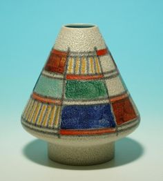 """Übelacker Keramik Vase 1511/15 1960"""