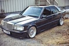 Mercedes-Benz 190E W201 on BBS Wheels | BENZTUNING | Performance and Style