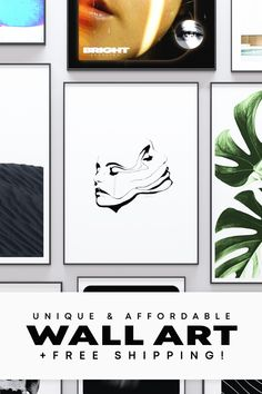 Are you looking for the best way to decorate your home or office? Discover our unique posters created by talented artists! Our posters are available in 3 different sizes and are printed on premium, fingerprint resistant photo paper with a slightly glossy finish. From hand painted artworks to stunning photography, our designs are unique and affordable. We also offer free shipping to the USA and most countries in the EU! Affordable Wall Art, Unique Wall Art, Unique Poster, Stunning Photography, Artwork Prints, Beautiful Images, Decorating Your Home, Artworks, Gallery Wall