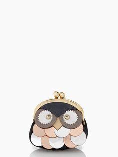 owl coin purse   kate spade