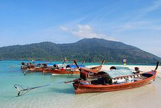 koh-lipe-thailand-longtail-boats | by MalaysiaAsia