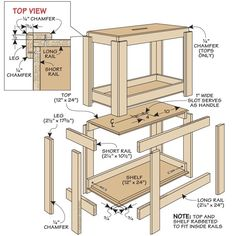 Stacking Shop Stools | Woodsmith Tips