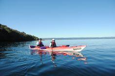 Fun day out Kayaking to the Maori Carvings on Lake Taupo