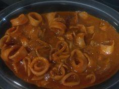 Simplemente Thermomix: Calamares en salsa americana