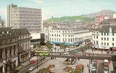 Dundee City Square, 1966.