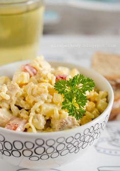 Mirabelkowy blog: Sałatka curry z ryżem i indykiem Risotto, Ethnic Recipes, Food, Curry, Curries, Essen, Meals, Yemek, Eten