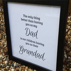 mens gift ideas - Daddy gift handmade - Gift Ideas For DAD - We're talking Birthday Gift Ideas for Dad, Daddy , Grandad, Father's Day Gift Ideas, Christmas Gifts too! Think grandad gifts from kids and you're also onto a winner! Handmade by MadeAt94
