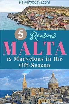 Yes, Malta is a fabulous island to visit any time of year. It's also one of Europe's most incredible islands for your next holiday. But here are five reasons why the winter off-season just might be the best time to plan your trip. Here's everything you need to know to decide which islands to visit, where to stay, and all the best things to see and do on Malta's three main islands of Malta, Comino, and Gozo. Start planning your trip today!