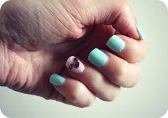 Zoella   Beauty, Fashion & Lifestyle Blog: Pastel Pug Manicure