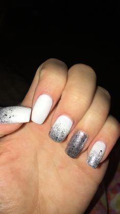#winter #acrylic #nails #pretty