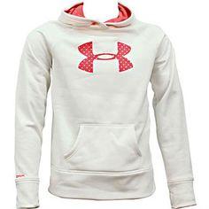Under Armour Storm Big Logo Sweatshirts - Girls Rogan's Shoes, Hoodies, Sweatshirts, Under Armour, Logo, Girls, Sweaters, Fashion, Toddler Girls