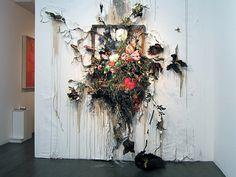 Juxtapoz Magazine - Update: Decaying Fine Art by Valerie Hegarty Inspiration Art, Art Inspo, Tattoo Inspiration, Contemporary Artists, Modern Art, Decay Art, Traditional Frames, A Level Art, Art Plastique