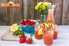 Strawberry Basil Lemonade - Produce Made Simple