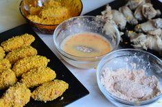 Aripioare de pui crocante a la KFC - CAIETUL CU RETETE Kfc, Chicken Recipes, Vegetables, Ethnic Recipes, Food, Essen, Vegetable Recipes, Meals, Yemek