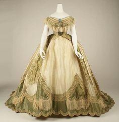 1865 ballgown
