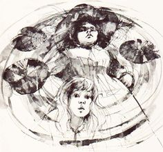Vintage Kids' Books My Kid Loves: The Wicked Pigeon Ladies in the Garden