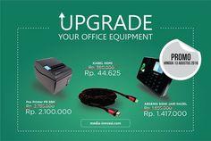 Update Your Office Equipment Buruan update peralatan kantor kamu! Masih ada promo sampai 13 Agustus 2016