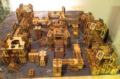 Necromunda - One man and his laser cutter - building the hive | YakTribe.games