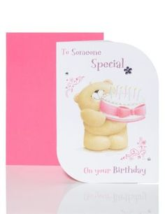 Forever Friends™ Someone Special Birthday Card | M&S
