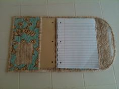 When we were on vacation I spotted a similar journal cover that I really liked. As usual, it was on display for a class and no pattern was ...
