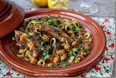Un plat de la cuisine algerienne traditionnelle, une recette très appréciée par les amateurs des abats et surtout très simple à faire, en fin simple après l