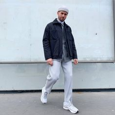 "3 Me gusta, 0 comentarios - What to Wear (@thestylethatwelike) en Instagram: ""M Street - @jaimetouchertoi #streetstyle #fashion #outfit"" Daily Fashion, High Fashion, Mens Fashion, Men Street, Street Wear, What To Wear, That Look, Normcore, Menswear"