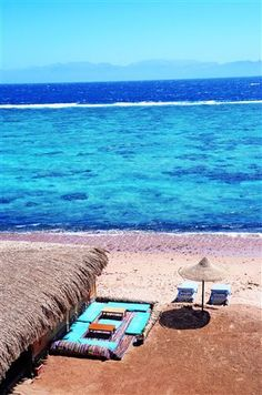 Chilling in one of the many beachside cafes in Dahab, South Sinai Egypt <3 www.dahabvillas.com