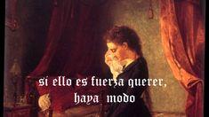 """Yo no Puedo Tenerte ni Dejarte  """" Sor Juana Inés  de la Cruz."""""""