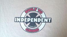90's orginal Skateboard T-Shirt Independent