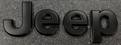 Black Jeep Hood Badge for JK Wranglers - Mopar Jeep Jk, Jeep Wrangler Jk, Jeep Truck, All Black Jeep, Jeep Hood Decals, Jeep Emblems, Jeep Cherokee, Jeep Life, Mopar