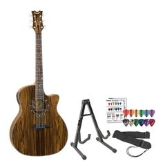 Save $ 404.49 order now Dean Guitars Exotica Cocobolo with Aphex Acoustic-Electr